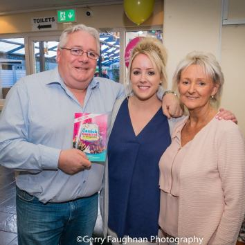 Gerry Philips and family at the 2018 launch